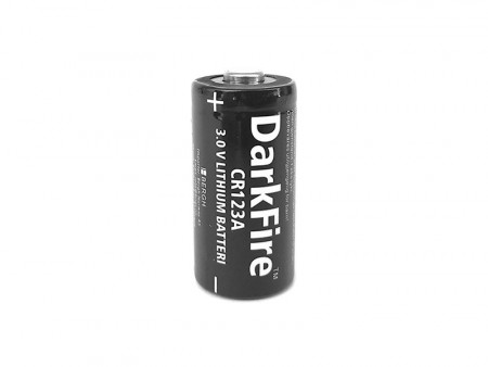 DarkFire CR123A 3V Batteri